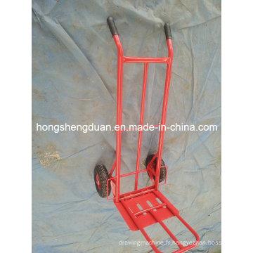 Chariot à main ont matériel de fer rouge fabriqué en Chine