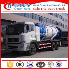 6 * 4 Rueda de la rueda Dongfeng Kinland Waste Vaccum Tanker