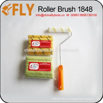 Wandfarbe Roller Pinsel
