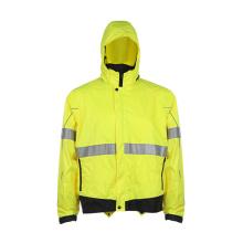 Hivis Fluroscent Runing Reflektierende Sicherheitsjacke