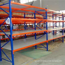 Rack à longue portée pour stockage de stockage
