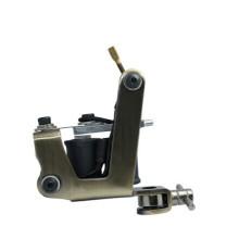 Uso de la máquina del tatuaje del hierro para el shader o el trazador de líneas, pistola del tatuaje contra la bobina