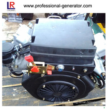 Small 22 HP Twin Cylinder Diesel Engine with 4-Stroke