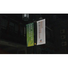 Digital Or Digital Heat Transfer Printing Polyester Promotional Outdoor Advertising Flags