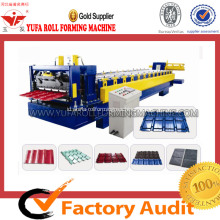 High-end Genteng Roll Forming Machine, Glazed Roll Tile Forming MachineMesin Roll Forming Genteng Baja