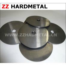 Resistente al desgaste del espejo afilado de pulido de disco de carburo cementado