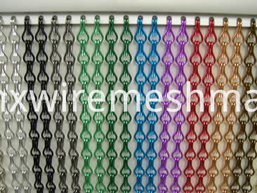 color-chain-link-curtain