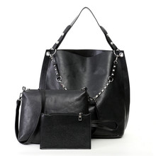 Black Custom Made Women Ladies Shopping Hand Bag