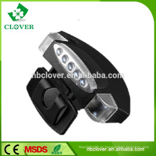 Iluminação LED mais potência de visão noturna de plástico 5 LED cap luz