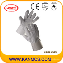 27cm Cow Split Leather Industrial Safety Welding Work Gloves (11102)