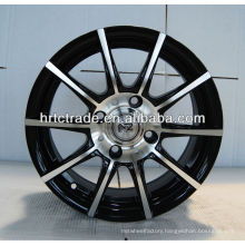Auto parts 14 inch machine face alloy car rims