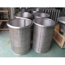 Reversed Profile Wedge Wire Screen Strainer / Water Filter