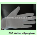 """ESD Dotted Stripe Glove Series (factory direct sale) 'J"""""""