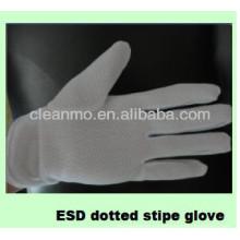Serie ESD Guantes con rayas punteadas (venta directa de fábrica) 'J'