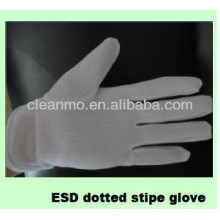 ESD Dotted Stripe Glove Series (factory direct sale) 'J""