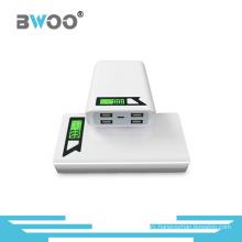 Powerbank 11000mAh Portable 4 USB Charger with Display