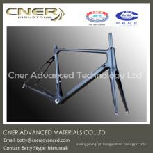 Feito para encomendar tipo de fornecimento de alto desempenho estrada / quadro de fibra de carbono de bicicleta de montanha, parte de fibra de carbono