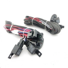 LED Lamp 2-Channel Vehicle Switch with 4-Channel Wire Harness