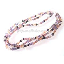 Мульти Strand Кристалл 8мм бисера ожерелье стекло ожерелье из бисера