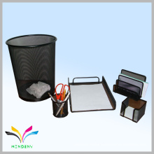 office school supplies metal mesh stationery set
