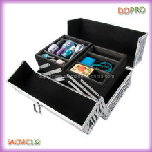Medium Size Cheap Cosmetic Train Case for Makeup Artist (SACMC132)