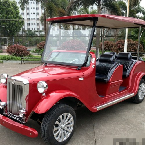 Gas powered 8 seater classic golf cart for hotel