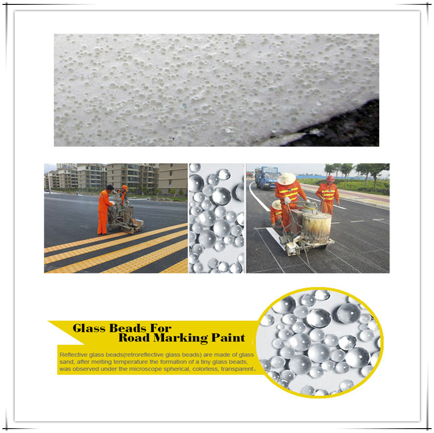 road safty glass beads