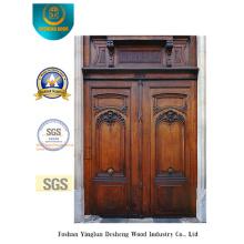 Porta de segurança europeia de estilo clássico para exterior (m2-1002)