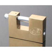 Cadeado de ferro retangular / cadeado com palheta / chaves de computador