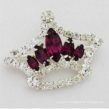 Vente en gros Hot Sale élégante Style Fashion Rhinestone Women Wedding Brooch