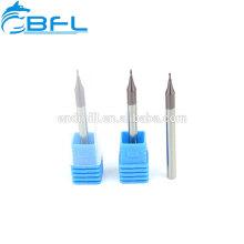 Molino de extremo de carburo sólido BFL / Molino de extremo de cuello largo / Molino de extremo micro