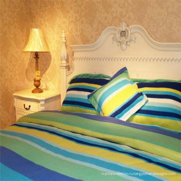 Комплект постельного белья из флиса с принтом