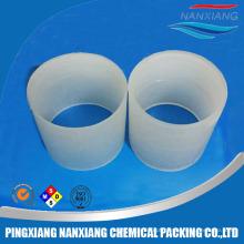 PE, PP, CPVC, PVDF, Anel Raschig de PVC para embalagem de torre aleatória