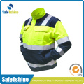 High quality two-tone Reflective safety jacket