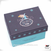 2018 en gros personnalisé imprimé logo pliant boîtes en carton ift