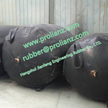 Airbag de obstrução da água (usado para impedir o fluxo)