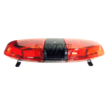 112W Police Tow Truck Rescue used 12V - 24V full size Oval LED Emergency Warning Safety Rotating Flashing Lightbar with Speaker