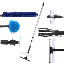 Hot Selling Price Multifunction Duster Squeeze Brush 7 in1 Cleaning Tools