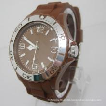 Neue Umweltschutz Japan Bewegung Kunststoff Mode Uhr Sj073-1