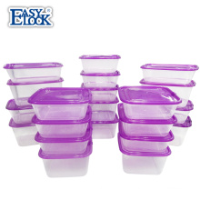 42-piece bpa-free Plastic Food Storage Container Set