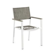 Muebles al aire libre del aluminio y del Textilene de la venta caliente
