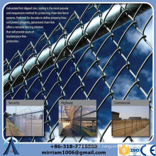 High Quality Cheap Custom chain link fence top barbed wire factory