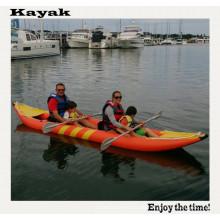 Bote de recreo para 2 personas 4m Kayak Bote infantil para la deriva