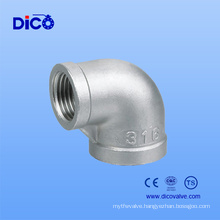 Casting 90 Degree Stainless Steel Male Female Elbow
