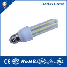 Luzes de poupança de energia do diodo emissor de luz da ESPIGA 3u de 8W 12W B22 E27