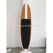2016 Chaud !!!! Planche de SUP de SUP de fibre de verre de résine époxyde de placage de bambou / planche de stand up paddle en bois