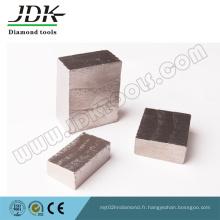 Segment de diamant pour couper le granit de l'Inde