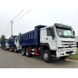 SINOTRUK HOWO 6*4 Dump Truck with flat roof long cab