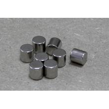 Forma del cilindro del imán del neodimio con el recubrimiento del níquel