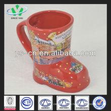 M048 Keramik Günstige Weihnachtsbecher Set